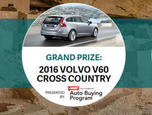 National Parks 2016 Volvo Sweepstakes