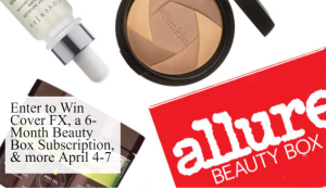 Mark your Calenders for Allure's April 4-7 Free Stuff