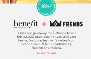 Benefit Cosmetics + Friends Festival Favorites Giveaway