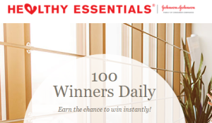 HEALTHY ESSENTIALS® Healthy Start Instant Win