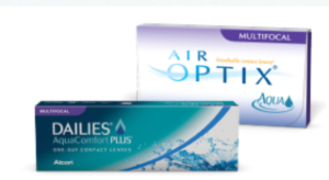 Free Alcon Multifocal contact lenses
