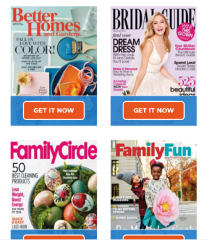 Free Magazines Subscriptions