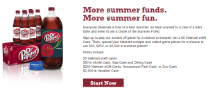 Dr Pepper Summer FUNd Sweepstakes